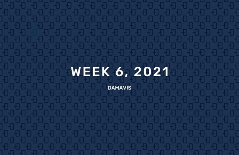 Summary of week 6 2021