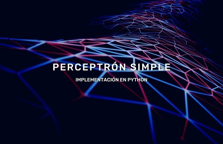 perceptrón-simple-implementación-python
