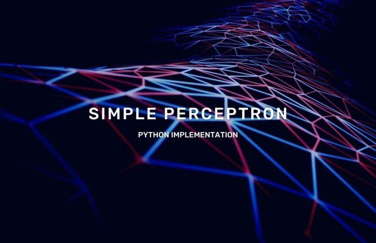 simple-perceptron-python-implementation