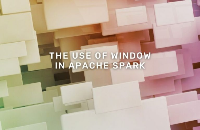 use-of-window-in-apache-spark