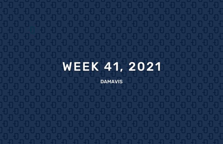 Damavis week 41